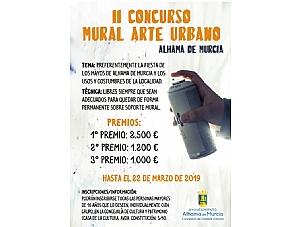 La temática de La Fiesta de los Mayos en el II Concurso de Pintura Mural Arte Urbano