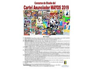 Bases del cartel anunciador de la fiesta de Los Mayos 2019