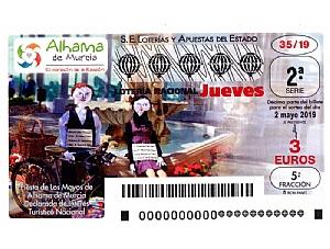 La fiesta de Los Mayos de Alhama, protagonista del décimo de Lotería Nacional