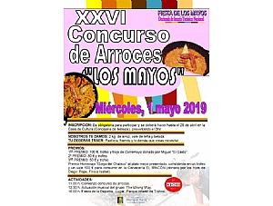 Fiesta de los Mayos 2019: bases del concurso de arroces