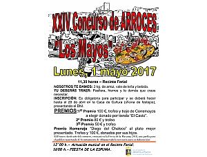 XXIV Concurso de Arroces - Los Mayos 2017