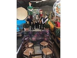 Los Mayos desfilarán este martes en el Bando de la Huerta