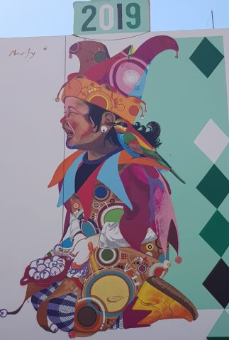 Los Mayos 2019 Mural de Murfy - 2