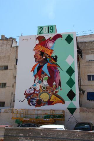 Los Mayos 2019 Mural de Murfy - 3
