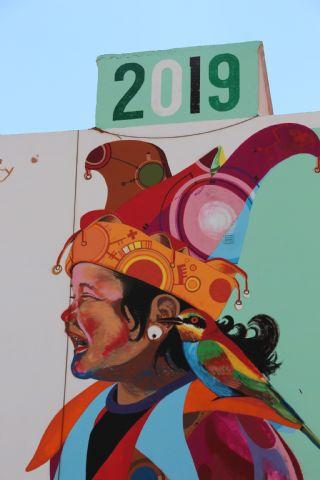 Los Mayos 2019 Mural de Murfy - 4