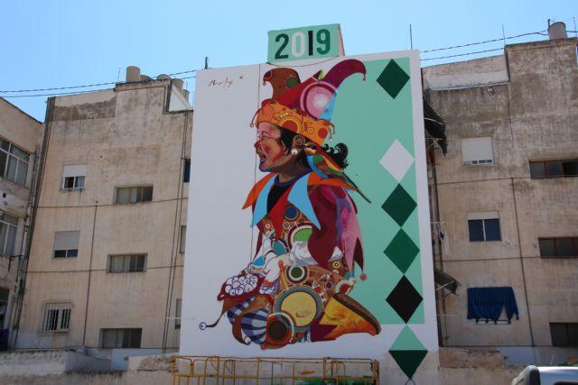 Los Mayos 2019 Mural de Murfy - 5