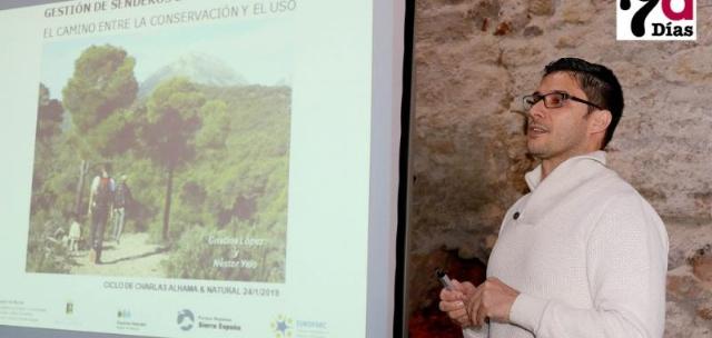 Ciclo de Charlas Alhama&Natural: Gestión de Senderos de Sierra Espuña