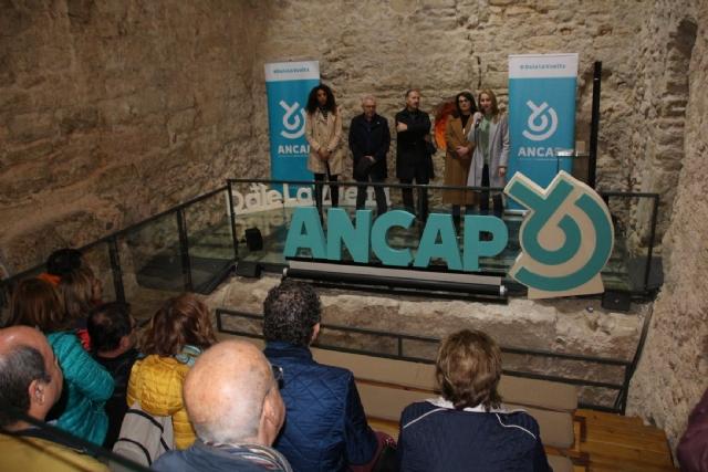 Miembros de la Asociación Nacional de Cáncer de Próstata visitan Alhama de Murcia.