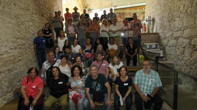 Jornada del II Encuentro grupos PAIN en el Museo Arqueológico Los Baños