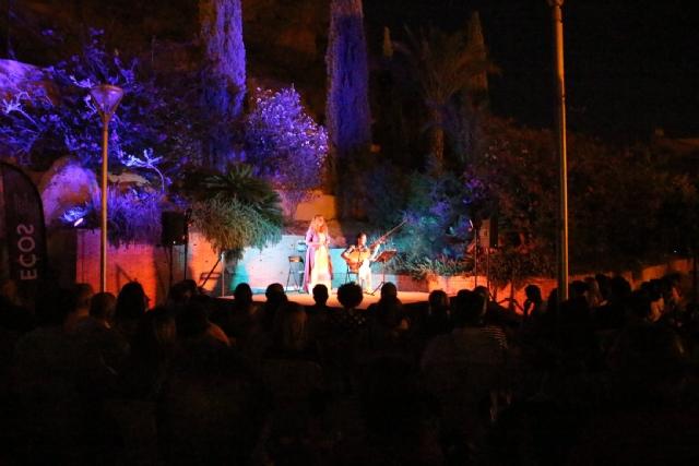 ECOS Festival: Concierto de Raquel Andueza y La Galanía en el jardín del Museo Arqueológico Los Baños