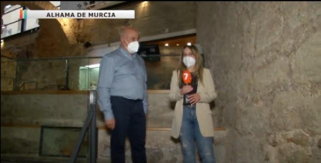 Reportaje de la 7tv en el Museo Arqueológico Los Baños.