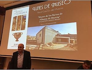 Conferencia de José Baños en el Real Casino de Murcia