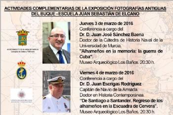 Actividades complementarias de la exposición de fotografías antiguas del buque-escuela Juan Sebastián Elcano