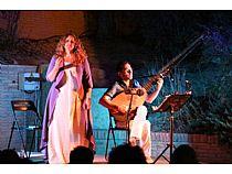 ECOS Festival: Concierto de Raquel Andueza y La Galanía en el jardín del Museo Arqueológico Los Baños  - Foto 1