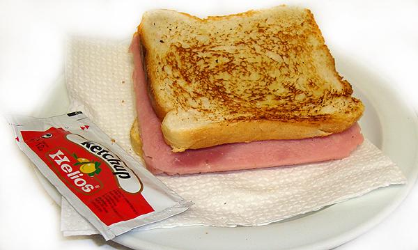 Sandwich Jamón York