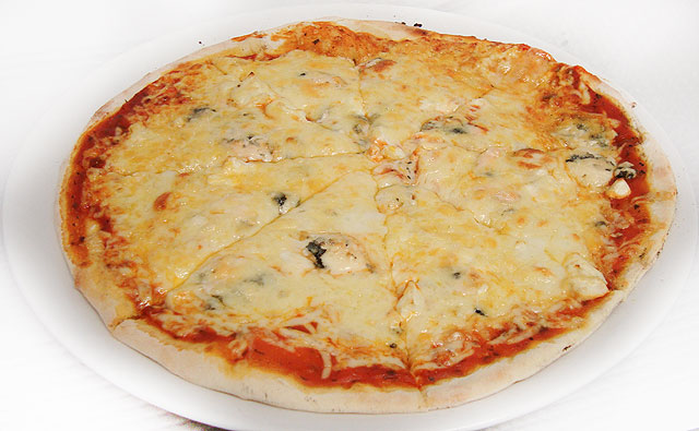Pizza Tres quesos
