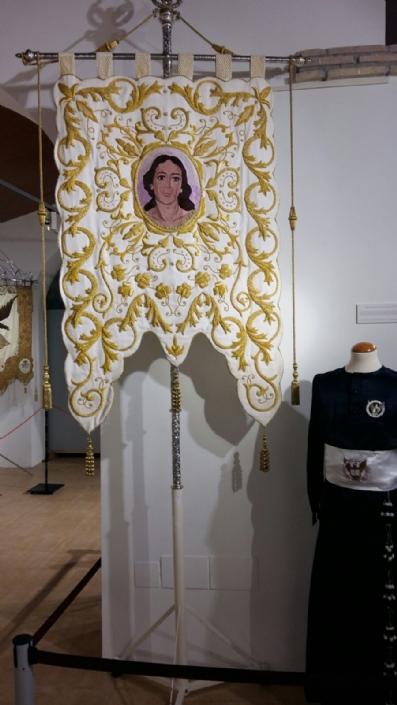 La Hermandad de San Juan Evangelista de Totana, participa en una exposición en Alhama de Murcia