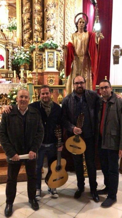 La Hdad. de San Juan Evangelista celebró el pasado miércoles, una Eucaristía en la Parroquia de Santiago el Mayor.