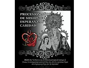 La Hermandad de San Juan Evangelista va a participar en la  procesión extraordinaria