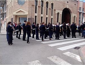 La Hermandad de San Juan Evangelista de Totana, participó en la jornada
