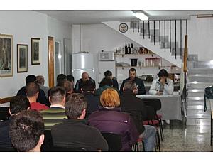 La Hermandad de San Juan Evangelista celebró la reunión anual de ayudas.