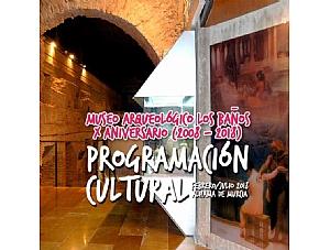 Programación cultural de febrero a julio de 2018