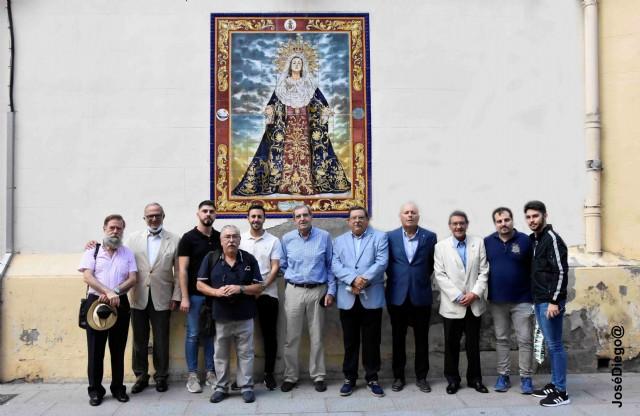 Visita de los Hermanos de la Cofradía de la Stma. Virgen de los Dolores. Crevillente.