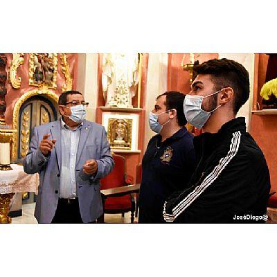 Visita de los Hermanos de la Cofradía de la Stma. Virgen de los Dolores. Crevillente. - Foto 6